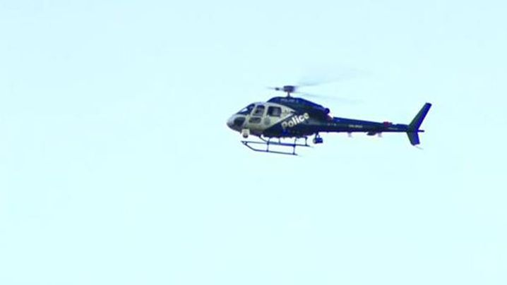 Snipers, Police Helicopter