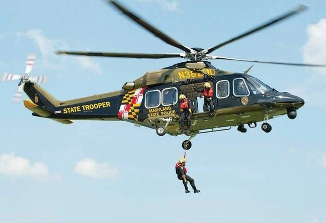 Police Aviation Maryland State Police Department Aviation Division 25th Annivers