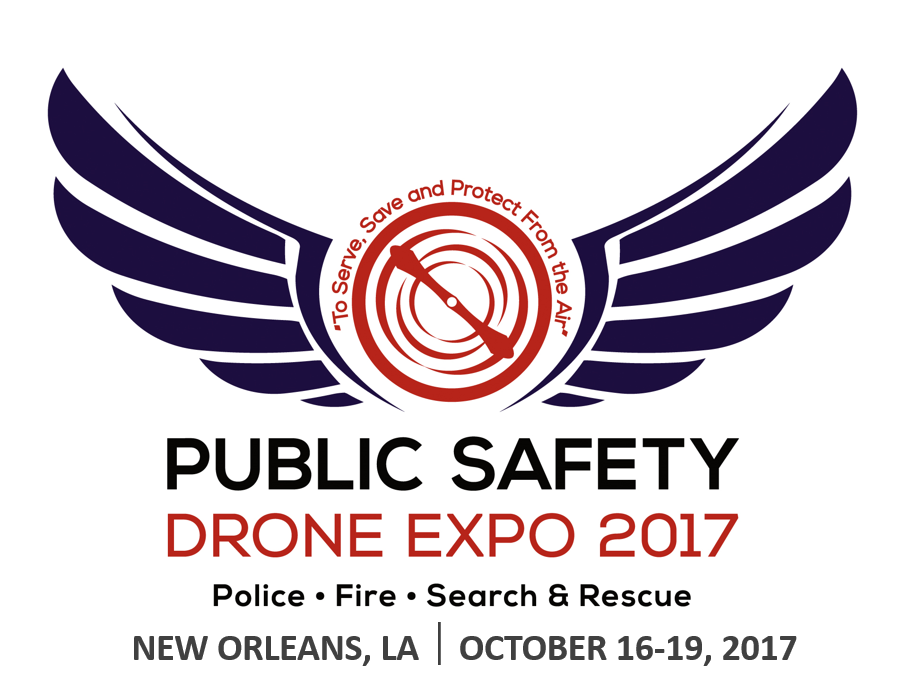 DRONE EXPO17 logo w location dates