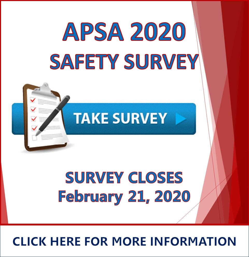 Catalog - APSA Safety Survey 2020