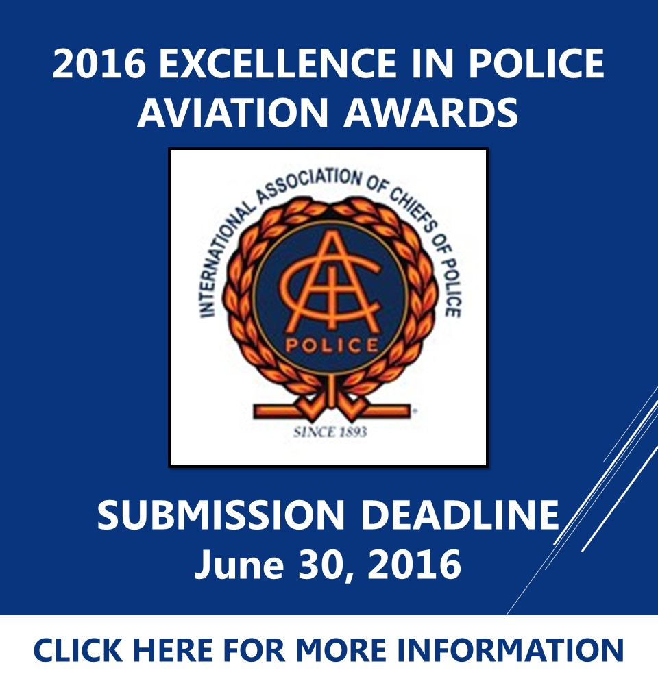 IACP 2016 Excellence in Police Aviation Awards
