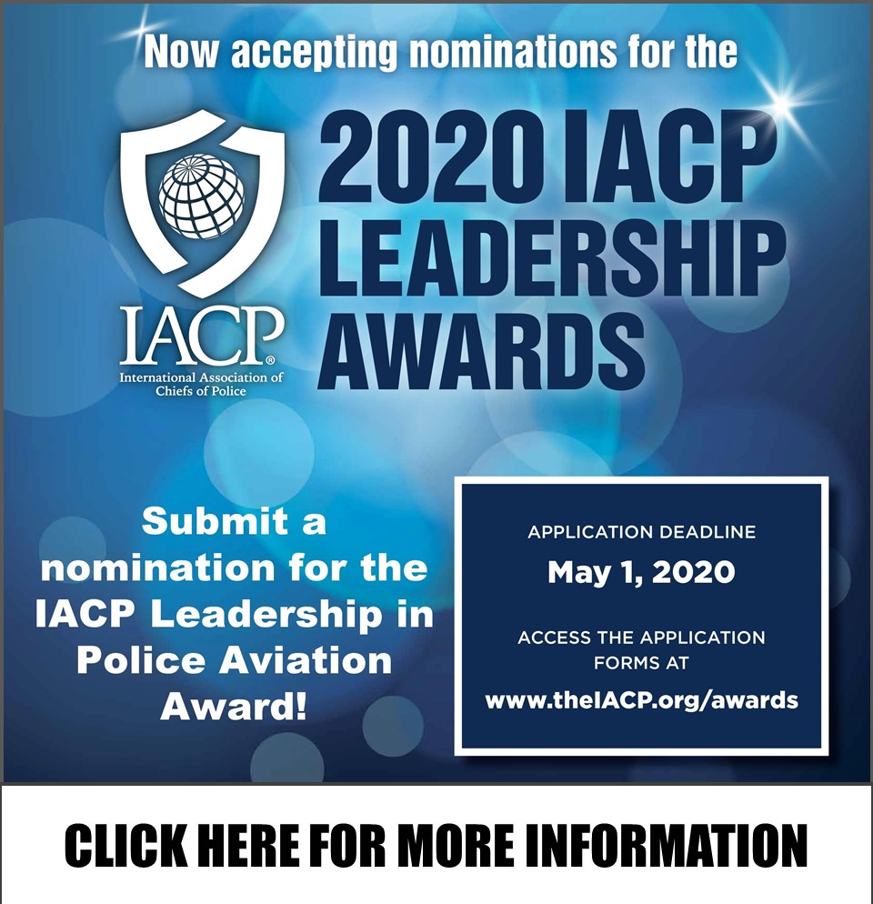 IACP 2020 Excellence in Police Aviation Awards