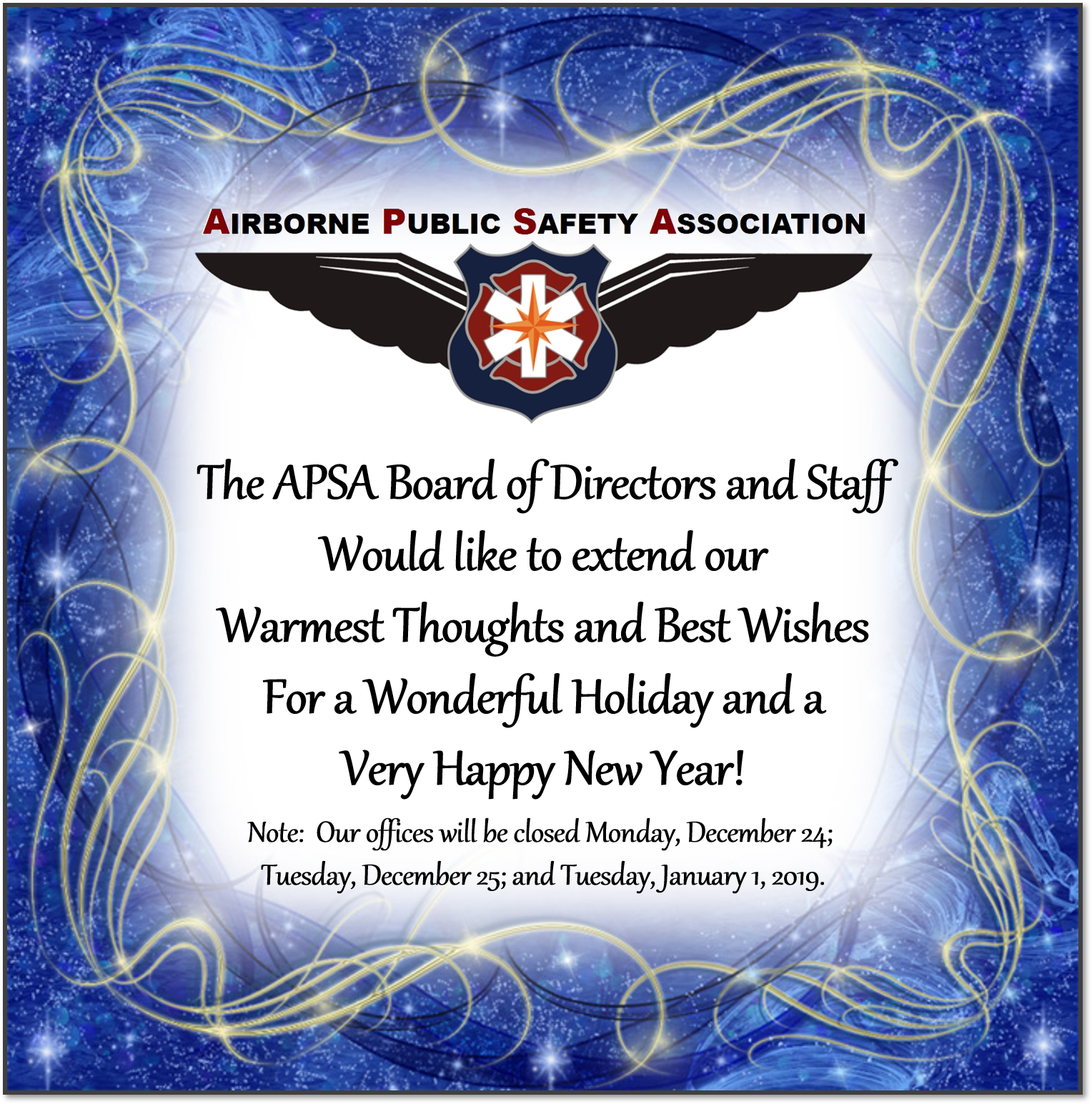 Catalog - Happy Holidays from APSA