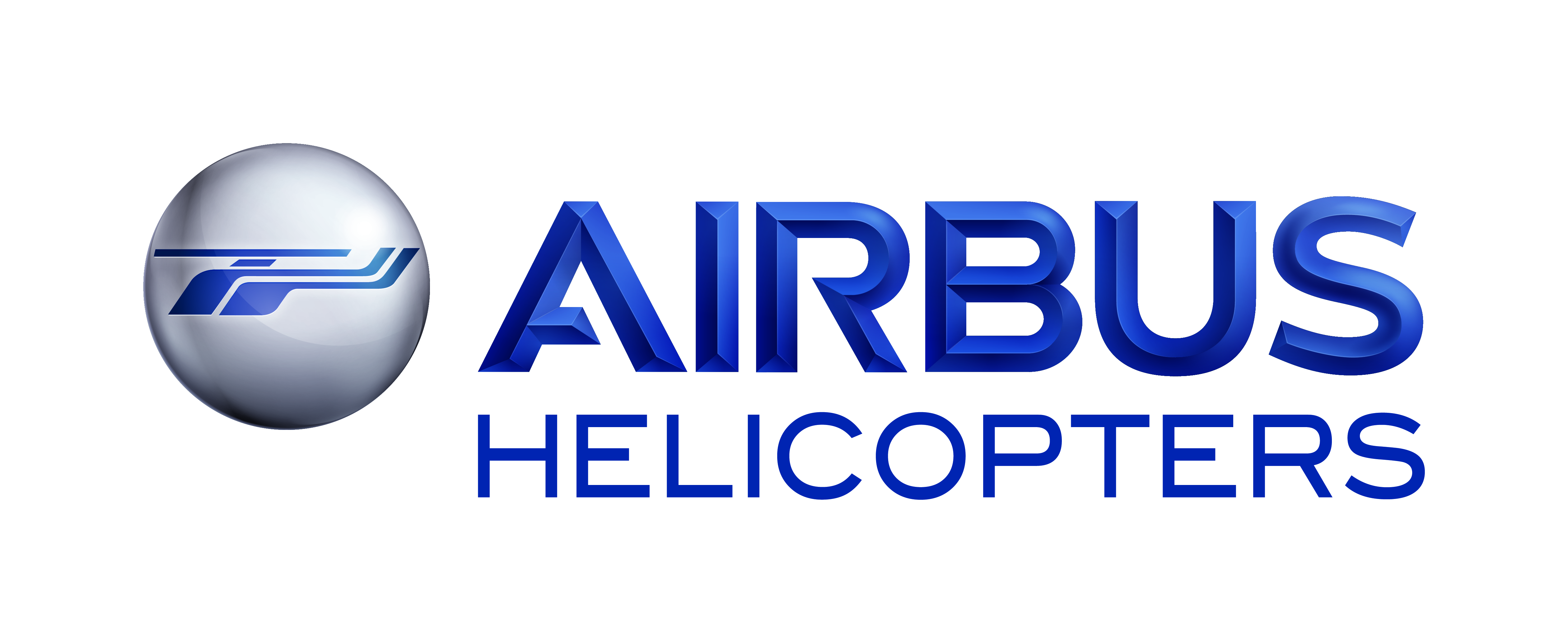 AIRBUS Helicopters 3D Blue CMYK
