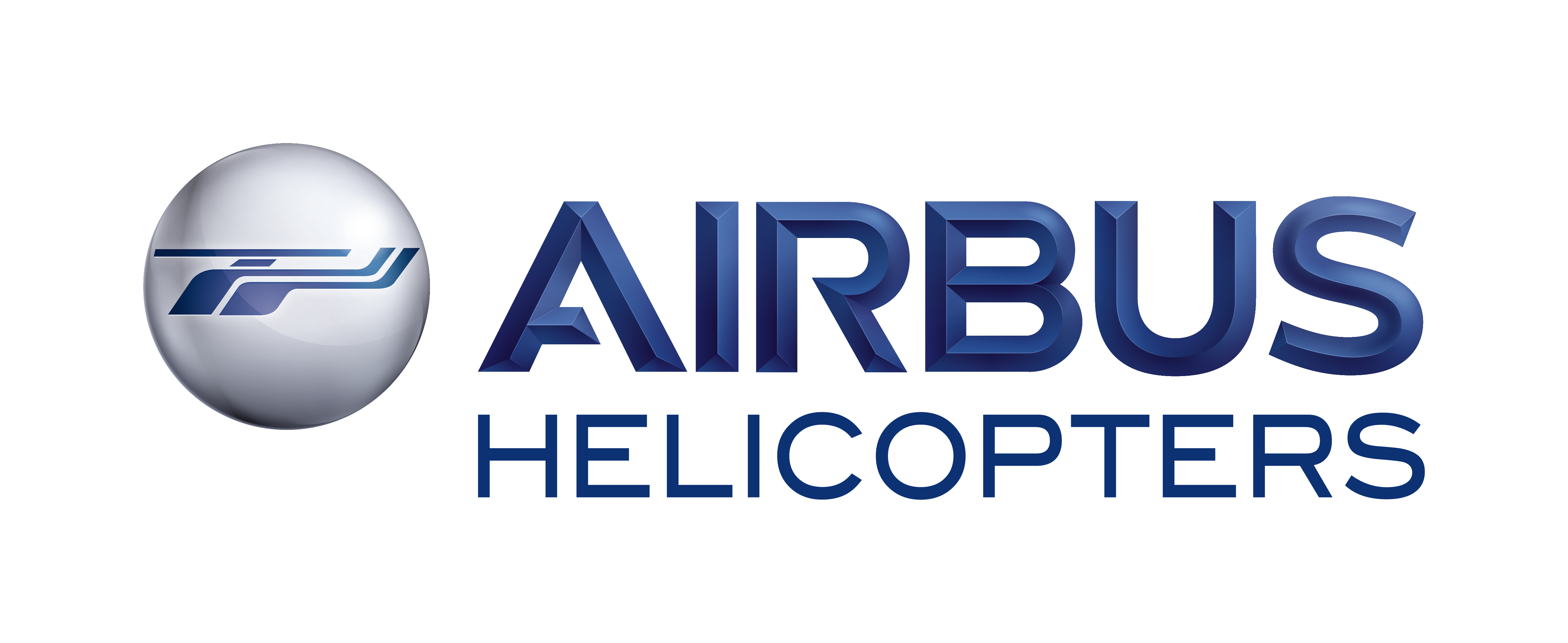 AIRBUS Helicopters 3D Blue RGB