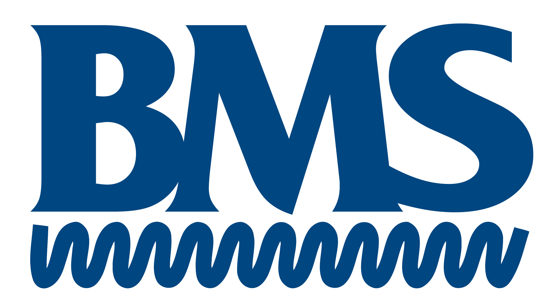 BMS Logo and Name StdBlue
